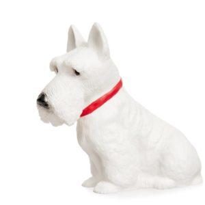 German Westie dog decorative lamp